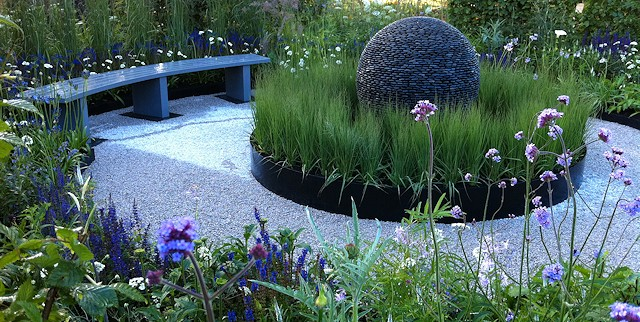 Double success for first show garden design at Blenheim Palace Flower Show 2014