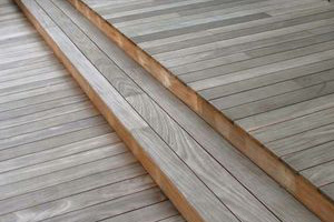 high quality contemporary garden decking