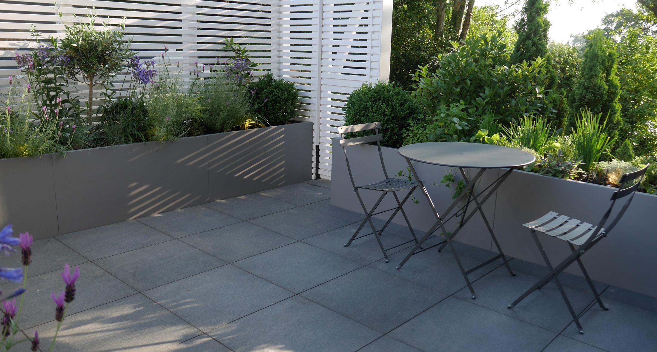 Slate Grey Garden Design Landscaping Tunbridge Wells Kent